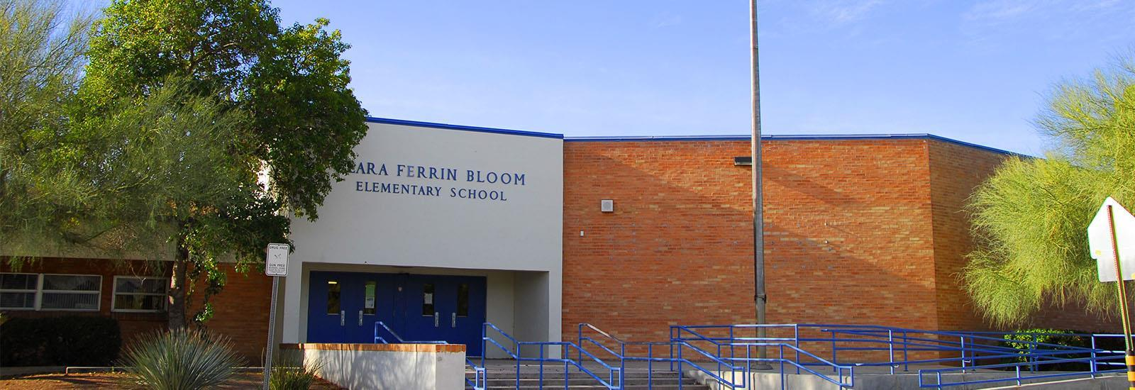 Bloom Elementary has doors that open to learning.