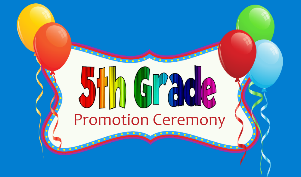 5th Grade Promotion Ceremony